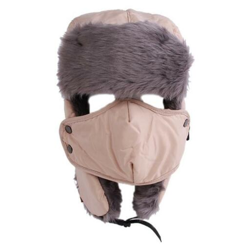 Stylish Winter Warm Trapper Bomber Aviator Trooper Earflap Ski Hat Waterproof N7