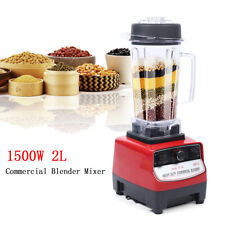2hp 1500w Heavy Duty Commercial Blender Mixer Power Juicer Food Process