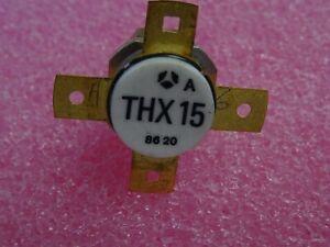 Transistor RF THX15 A - THX15A Thomson avec écrou