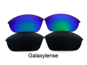 Galaxy Oakley Ricambio Verde Di Da Occhiali Half Sole Jacket Per Nero Lenti amp; IpngxOp