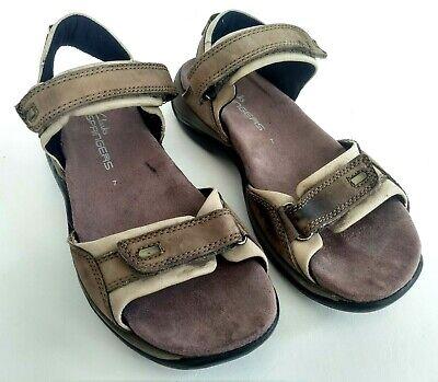 Clarks Springers Womens Size 7 Brown Slides Ankle Strap Sandals Walking Shoes | eBay