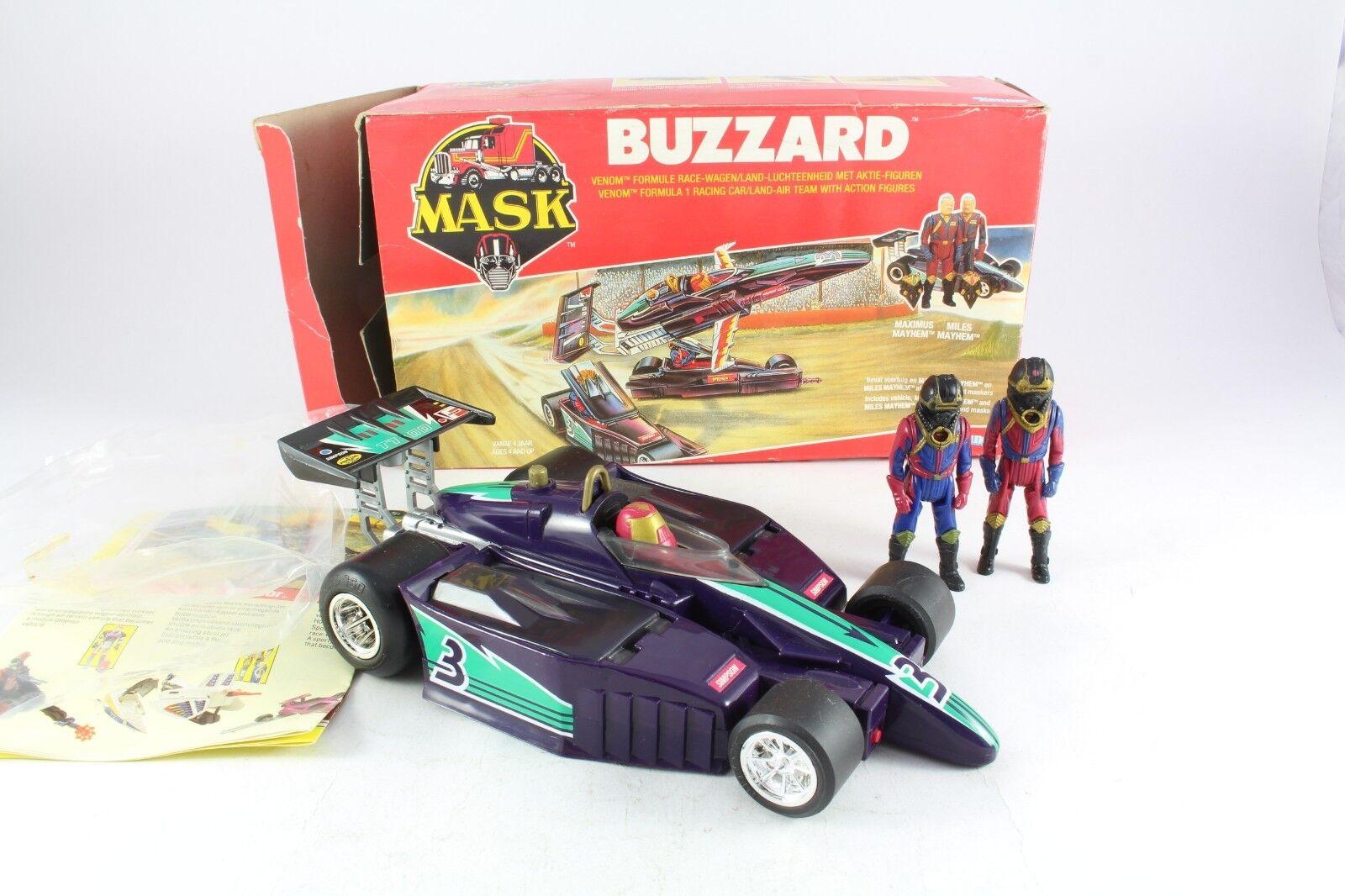 1986 Kenner M.A.S.K. Mask Buzzard Miles Maximus Mayhem European Variant Rare