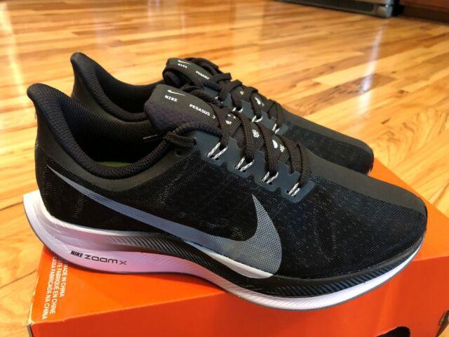 online store 91ca8 10083 Nike Zoom Pegasus 35 Turbo Black Vast Grey Oil Grey Aj4114 001 Men's Size 7