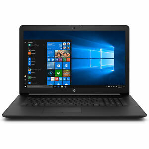 zHP Notebook 17 Zoll HD+ Dual Core 2x 2,6GHz 4GB 1TB Win10 / Office 2018 DVD CD