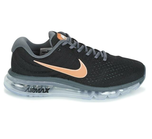 buy online 9544d 3b544 Nike Air Max 2017 Womens Running Shoes 849560-008 Black/mtlc Red ...