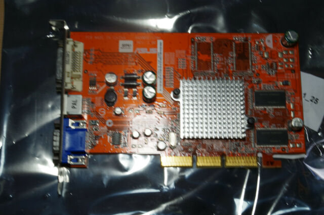 ASUS A9200SE/TD/P/128M/A Graphics Card128Mb AGP Video DVI VGA S-video ATI