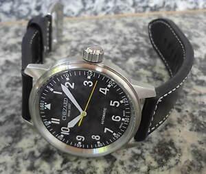 Marken-Herrenuhr-Flieger-Automatik-45mm-mit-ETA-Werk-CHEZARD-2842F-Band-dick