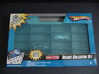 Hot Wheels Deluxe Collector Set Display Storage Case Carry Exclusive Car