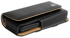Leather Horizontal Belt Case Pouch for Apple iPhone 4 4S. +holster Belt Clip New