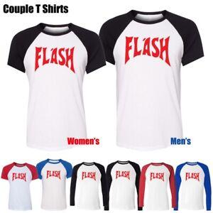 Freddie-Mercury-Red-Flash-Gordon-Queen-Women-039-s-Men-039-s-Graphic-Tee-Couple-T-Shirt