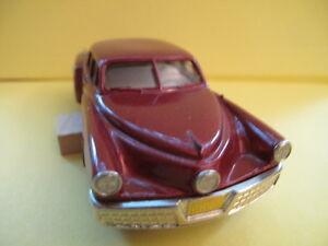 BROOKLIN MODEL: 1948 TUCKER - BRK 2X / RED - MOVIE SOUVENIR limited edition