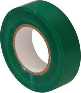30 x Green PVC Insulation Tape 19m x 20m Flame Retardant BS 3924  EPT12 x3