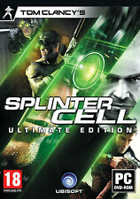 """Tom Clancy's Splinter Cell Ultimate Edition PC DVD Inc. 5 Games """"New and Sealed"""""""