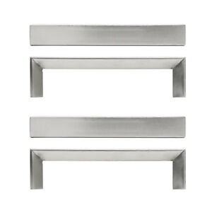 Ikea 2 or 4 Choice TYDA Stainless Steel Kitchen Cabinet Handles ...