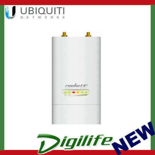Ubiquiti Rocket M3 3GHz MIMO WiFi AP LS (Operator License Required)