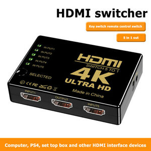 HDMI-Splitter-5-Input-1-Output-HDMI-Switcher-4K-x-2K-HDTV-Video-Adapter-fuer-HDTV