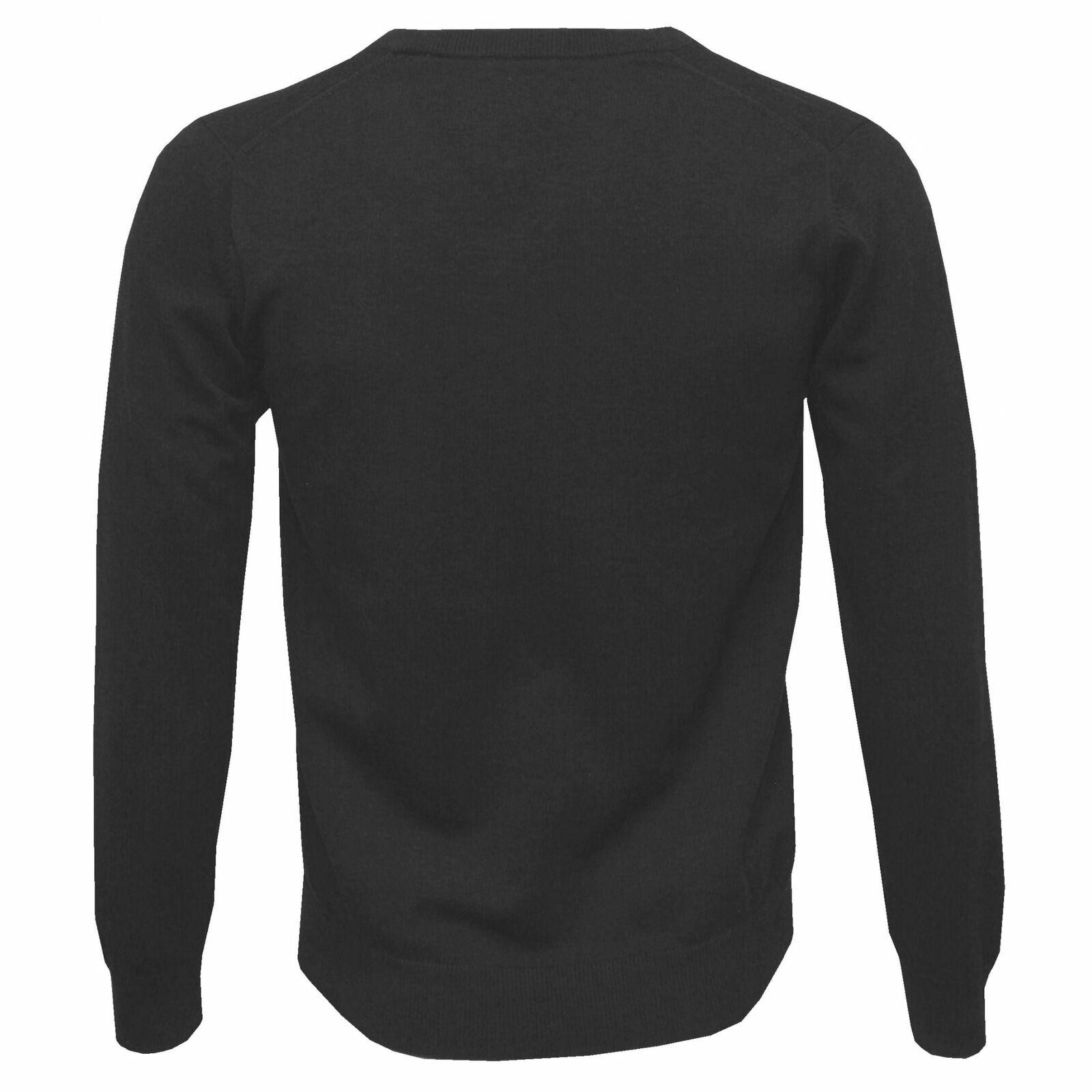 Gant leggero cotone V-Neck Jumper, scuro scuro scuro antracite melange 832a67