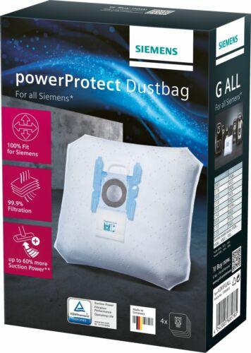 4 Original sacs pour aspirateur convient pour Bosch BSGL 3a340