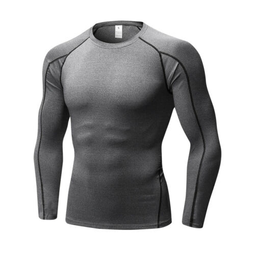 Men/'s Compression Running Basketball Tights Quick-dry Gym Base Layers Breathable