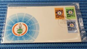1974 Malaysia First Day Cover 25th Anniversary of MTUC Commemorative Stamp Issue