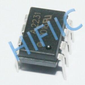 1PCS/5PCS HCPL-2231 A2231 Low Input Current Logic Gate Optocouplers DIP8