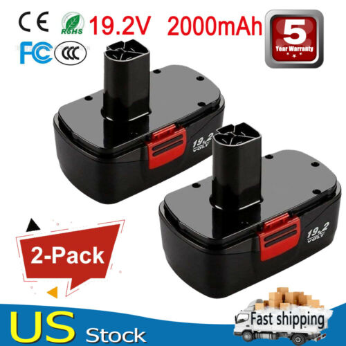Repalce for Craftsman DieHard C3 19.2V Battery 315.115410 315.11485 130279005 2A