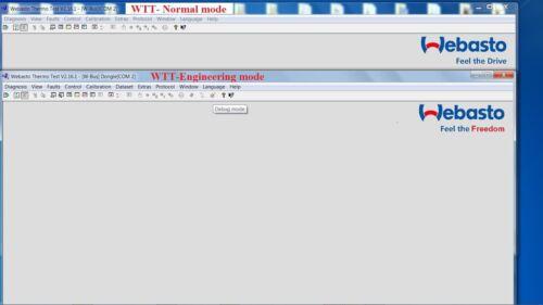 WEBASTO v3.4 USB INTERFACE DIAGNOSTIC HEATER