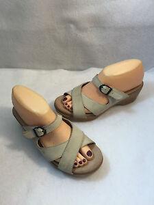 Dansko-Strappy-Adjustable-Strap-Sandals-Slides-Womens-Size-EU-38-US-7-5-8-M