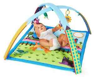 Oops-City-Gym-Move-amp-Play-Tummytime-Playtime-Mat-Mutli-Activity-Center-Au-Ship