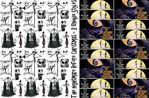 image is loading nightmare before christmas wrapping paper size a1 a2