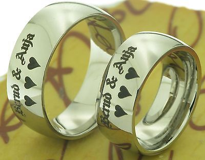 2 Ringe Verlobungsringe Eheringe Trauringe & Kostenloser Lasergravur Ausgereifte Technologien