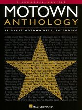 Motown Anthology Sheet Music Piano Vocal Guitar Songbook NEW 000310367