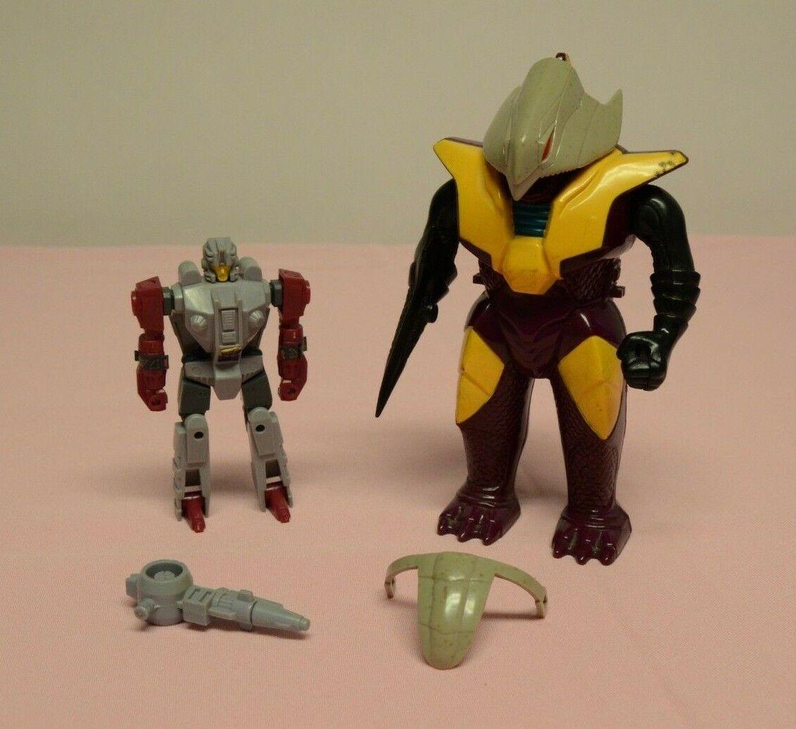 Vintage Transformers G1 Pretenders Finback Hasbro 1988