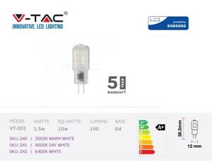 LED-G4-Capsule-Light-with-SAMSUNG-Chip-1-5W-100Lm-Plastic-by-V-TAC