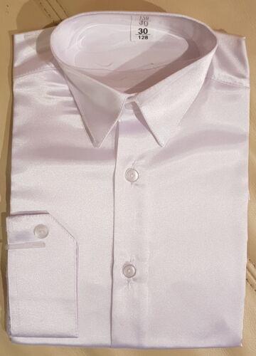 Kinderhemd garcon BRILLANT FETE Chemise manches longues kragenhemd Taille 92-146
