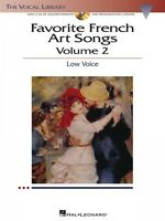 Favorite French Art Songs Volume 2 The Vocal Library Low Voice Vocal C 000000442