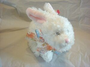 BEANIE BABY- NIBBLE - WHITE EASTER BUNNY -  MWMT