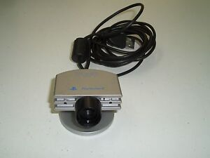Playstation-2-PS2-Eye-Toy-Camera-SCEH-0004-silber-Eye-Toy-Play