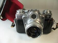 ZEISS IKON Contarex BullsEye Camera w/ Carl Zeiss Planar 1:2,f=50mm Lens
