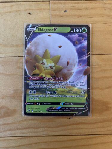 Eldegoss V 019//192 NM//M Pokemon SWSH2 Rebel Clash in hand ready to ship
