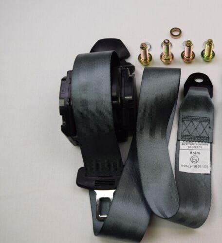 Gris E9 Rated fournisseur britannique TVA INC ECER 16 Universel 3 Point Inertie Reel seulement