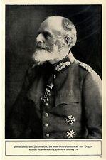 Generaloberst von Falkenhausen der neue General-Gouverneur von Belgien c.1917