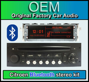 Details about Citroen C2 Bluetooth stereo, Citroen AUX USB radio, LCD  Screen, Microphone