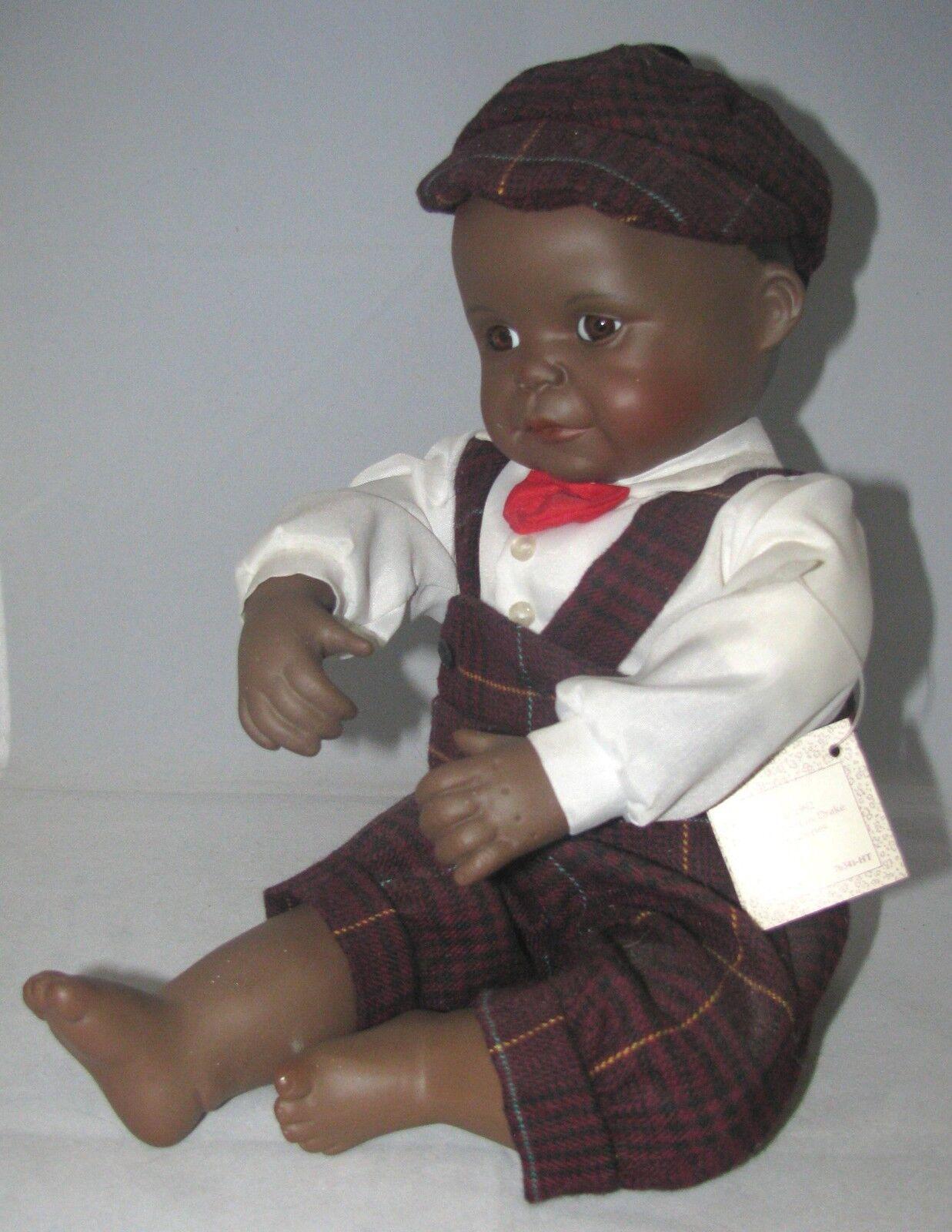 Ashton Drake David 9  Poseable Muñeca de porcelana con caja y certificado de autenticidad