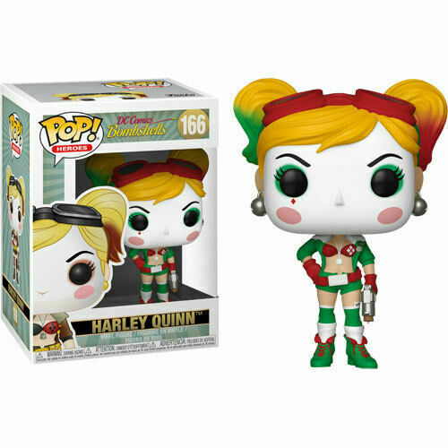 DC Bombshells - Harley Quinn Holiday US Exclusive Pop! #166