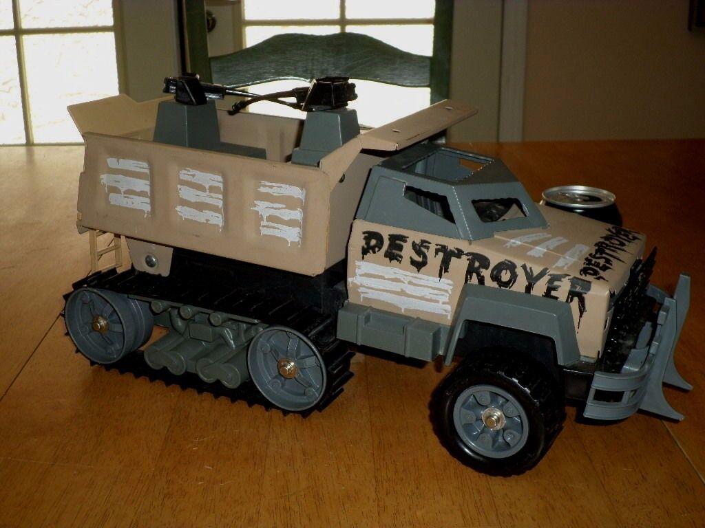TONKA Toys-Destroyer-camion militaire, pressé ACIER METAL 18  jouet, vintage