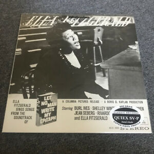 Ella-Fitzgerald-Let-No-Man-Write-My-Epitaph-200g-Classic-QUIEX-SV-P-Hand-Made