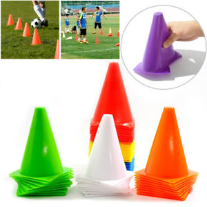 7-034-Marker-Training-Cones-Tall-Sports-Traffic-Cones-Safety-Soccer-Football-Rugby