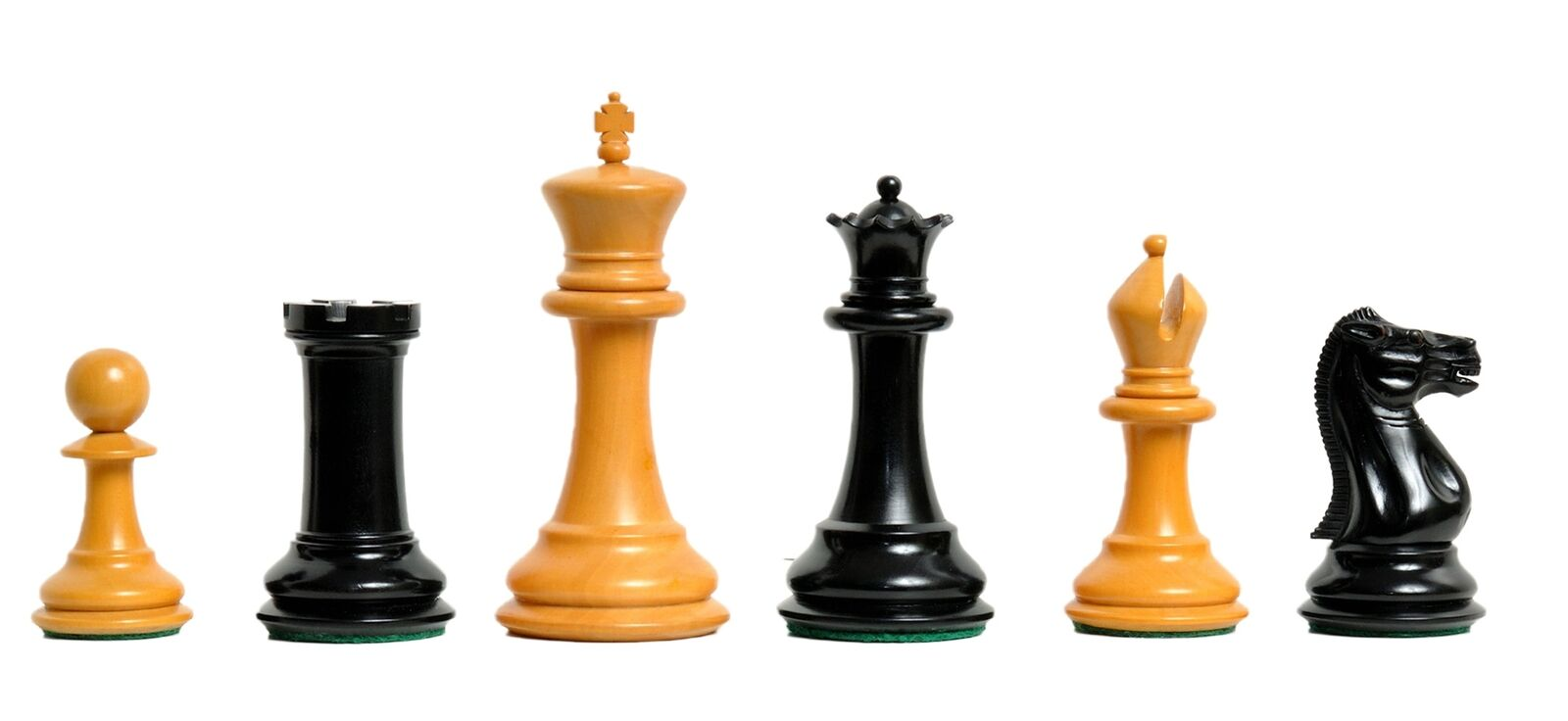 The Morphy Luxury Chess Set - Pieces  Only - 4.4  re Ebonized & Antiqued scatolawoo  molto popolare