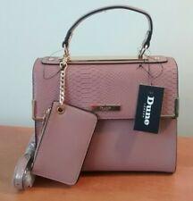 50c8ce49d6 Dune London Blush Pink Medium Satchel W/Strap/Mini Wallet Purse Handbag